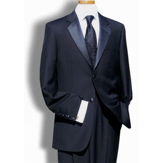 Mens 2 Button Super 150s Wool  Tuxedo