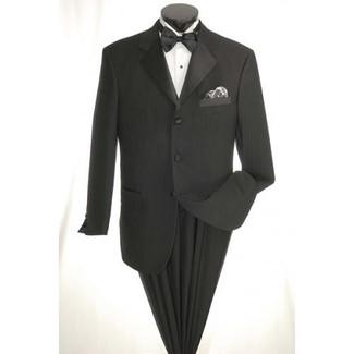 Vittorio St Angelo Black on Black  Tuxedo
