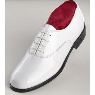 After Six Jazz Oxford (White) Tuxedo Shoes