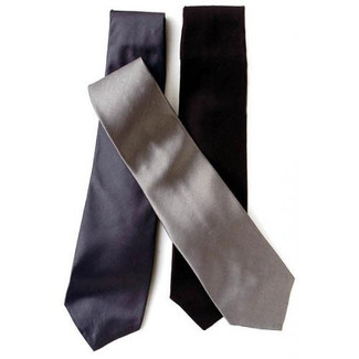 100% Silk Formal Neck Tie - Men's Formal Long Tie