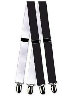 Formal Mylar Clip Tuxedo Suspenders