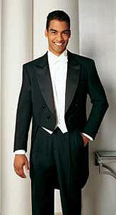 Men's Peak Tailcoat - Formal Trousers Available