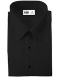 Black Como Laydown Tuxedo Shirt by Cardi