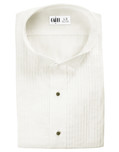 Ivory Dante Wingtip Tuxedo Shirt by Cardi