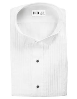 White Dante Wingtip Tuxedo Shirt by Cardi