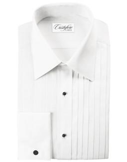 Milan Laydown Tuxedo Shirt by Cristoforo Cardi
