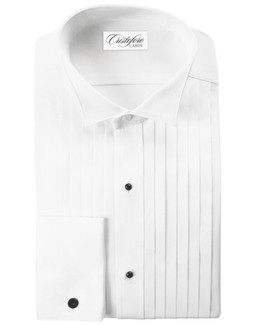 Roma Wingtip Tuxedo Shirt by Cristoforo Cardi