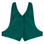 Teal Backless Vest