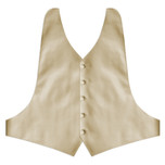 Champagne Backless Vest