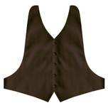 Chocolate Brown Backless Vest