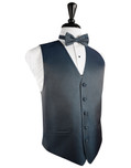 Haze Blue  Tuxedo Vest