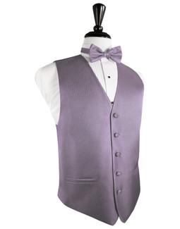 Heather Herringbone Tuxedo Vest