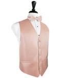 Peach Tuxedo Vest