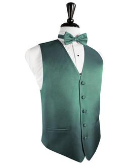 Aqua Tuxedo Vest