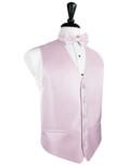Light Pink Herringbone Tuxedo Vest