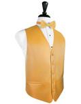 Mandarin Herringbone Tuxedo Vest