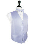 Periwinkle Herringbone Tuxedo Vest
