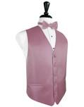 Rose Herringbone Tuxedo Vest