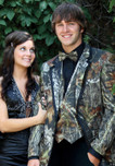 Camouflage Tuxedo - Includes Matching Tux, Shirt, Vest and Bow Tie