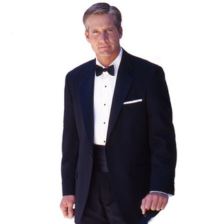 Deluxe Polyester and Wool Tuxedo Package