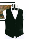 100 Percent Wool Full Back Tuxedo Vest