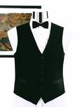 100 Percent Wool Full Back Tuxedo Vest
