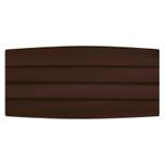 Satin Chocolate Brown Cummerbund