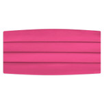 Satin Hot Pink Cummerbund