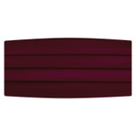 Satin Burgandy Cummerbund