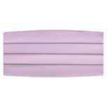 Satin Lilac Cummerbund