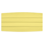 Satin Canary Yellow Cummerbund