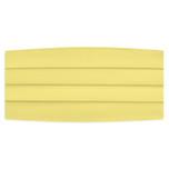 Satin Canary Yellow Cummerbund