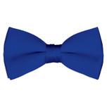 Satin Royal Blue Bowtie