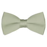 Satin Sage Green Bowtie
