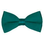Satin Teal Bowtie
