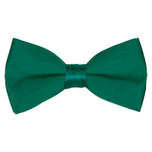 Satin Emerald Green Bowtie