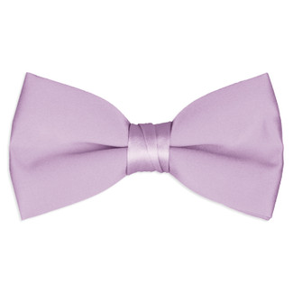 Satin Lilac Bowtie