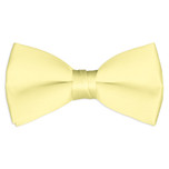 Satin Yellow Bowtie