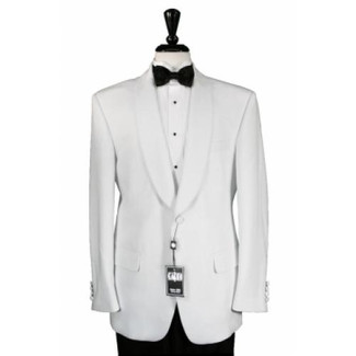 Cardi White Shawl Dinner Jacket