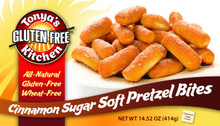 Cinnamon Sugar Soft Pretzel Bites