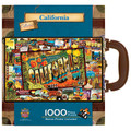 California Collectible SuitCase Luggage Box 1000 Piece Jigsaw Puzzle