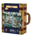 Seattle Collectible SuitCase Luggage Box 1000 Piece Jigsaw Puzzle