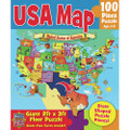 Giant USA Floor Map Puzzle 2ft x 3ft 100 Piece Puzzle
