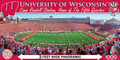 NCAA University Of Wisconsin Panoramic 1000 Piece Jigsaw Puzzle