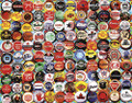BEER BOTTLE CAPS 1000 Piece Jigsaw Puzzle