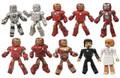 Iron Man 3 Marvel Mini Mates Hall Of Armor 10 pack Box Set San Diego Comic Con Exclusive