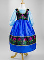 Disney Frozen Anna Dress Up Costume Ice Princess Of Arendelle