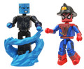 Battle Damaged Spider-Man and Electro Marvel MiniMates 2 Pack Figures