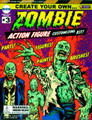 Create Your Own Zombie Action Figure Customizing Kit