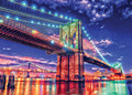 HDR Photography BROOKLYN LIGHTS 1000 Piece Jigsaw Puzzle
